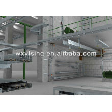 YTSING-YD-000171 Good Quality Perforated Steel Cable Tray Making Machine/Steel Cable Tray Roll Forming Machine